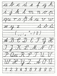 how write cursive handwriting numbers how different is german handwriting from american s