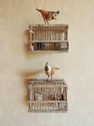 wonderfull design birdcage wall decor sweet looking bird cage art
