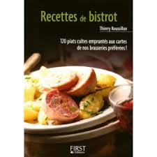 cuisine livre petit livre de cuisine petit livre de recettes de bistrot