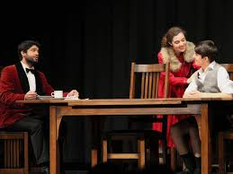 cappies st mark players set the table of life in the dining room