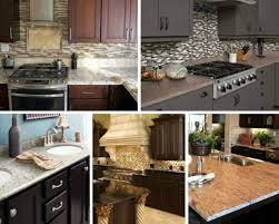blue kitchen cabinets with granite countertops granite countertops to balance kitchen cabinets