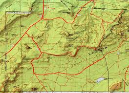 Red River New Mexico Map by Natural Resources Program