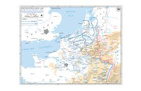 Western Europe Map by Department Of History Wwii European Theater