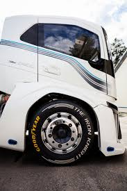 volvo track goodyear truck tires the fastest in the world