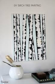 birch tree wrapping paper make diy birch tree birch canvases and tutorials