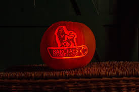 professional pumpkin carving for premier league by sand in your eye
