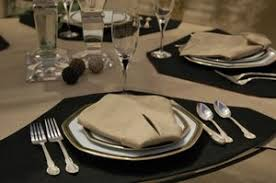 Table Place Mats Round U0026 Rectangle Table Placemats Dining In The Round