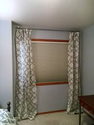 Office Curtain Guest Bedroom Office Makeover Curtains And Sconces Inspiration