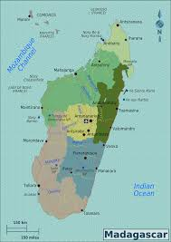 Picture Of Map Map Of Madagascar Overview Map Regions Worldofmaps Net