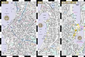 French Riviera Map Streetwise French Riviera Map Laminated Road Map Of The French