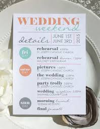 wedding itinerary for guests printable wedding itinerary wedding itinerary wedding schedule