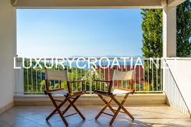 seaview house for sale near beach brac island luxurycroatia net