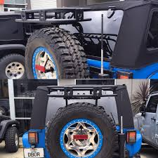 Smittybuilt Roof Rack by Smittybilt Defender Rack Tailgate Bolt On Jk Basket