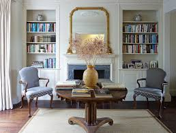 london mirrors over fireplace living room victorian with lined