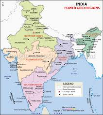 regional map of asia india power grid map power grid regions