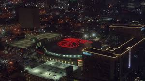 Toyota Center Floor Plan by Houston Hotel And Stadium An Aerial View Of Houston U0027s Toyota