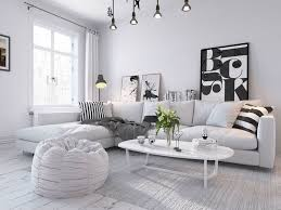 remarkable scandinavian living room concept with spotless white
