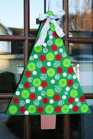 20 best wooden door hangers christmas trees images on pinterest