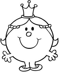 coloriage madame princesse coloriage à imprimer monsieur madame