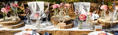 Garden Decorations For Sale Enchanted Garden Wedding Decorations Wood Slices U0026 Pressed Glass
