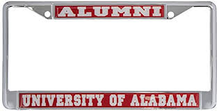 of alabama alumni car tag of alabama roll tide alumni license plate