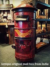 old iron mail box from india http homedesignstoreflorida com