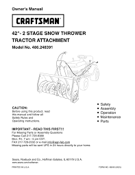 craftsman 24 snow thrower owner s manual most beautiful snow 2017
