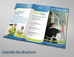 cleaning brochure templates free cleaning brochures 8 cleaning company brochures designs templates