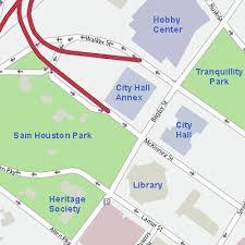 houston event map city