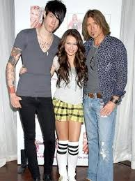the cyrus family tattoos miley trace and billy ray billy ray