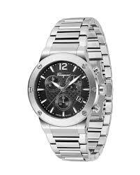 bracelet black images Salvatore ferragamo 44mm f 80 bracelet watch black jpg