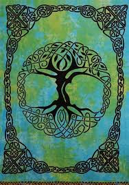 celtic tree of tapestry