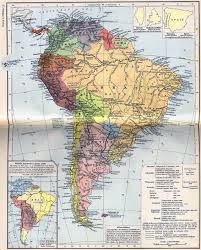 South America River Map by Science Visualized U2022 18th Century Maps Of South America Circa 1690