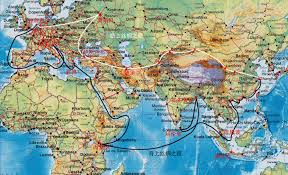 Silk Road Map China Takes The Lead On The Silk Road Webonchina