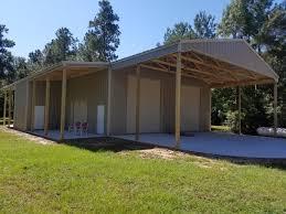 patios driveways concrete post metal buildings conroe tx