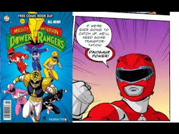 mighty morphin power rangers comic book review free comic book