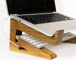 laptop riser for desk portable wood laptop stand wooden laptop riser macbook stand