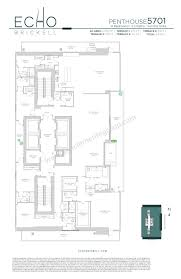 Axis Brickell Floor Plans Echo Brickell Sanclemente Group