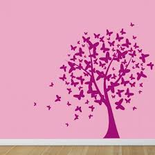 butterfly tree wall sticker wall chimp uk