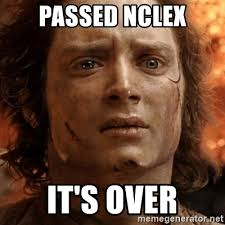 Nclex Meme - passed nclex it s over frodo it s over meme generator