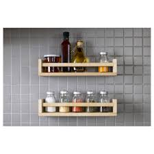 Kitchen Cabinet Door Spice Rack Furniture Door Mounted Wooden Spice Rack For Kitchen Furniture Ideas