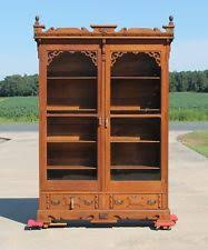 victorian antique bookcases 1900 1950 ebay