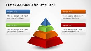 Fishbone Diagram Ppt Template by 4 Levels 3d Pyramid Template For Powerpoint Slidemodel