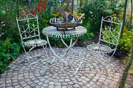 outdoor patio design ideas brick flagstone covered patios circular