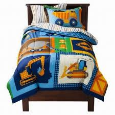 Truck Bedding Sets Circo Bed In Bag Build It Construction Truck Comforter Set