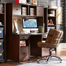 Desk With Computer Storage Chatham Large Storage Desk Hutch Pbteen