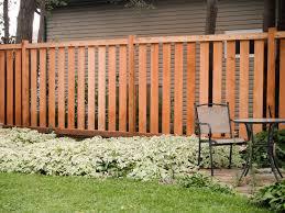 semi private wood fence fences gates screens u0026 railings