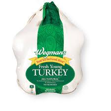 fresh turkey wegmans