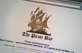 pirate bay available on black recent news