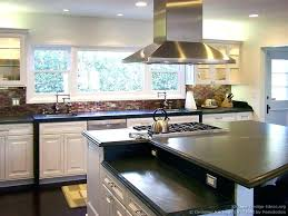 designer kitchen islands kitchen island with rounded end size of island ideas with